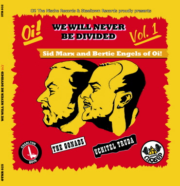 The Gonads / Uchitel Truda - We Will Never Be Divided Vol.1 Split-7EP + Mp3 Downloadcode (lim.300